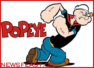 popeye-strong-disney-comic-character-life